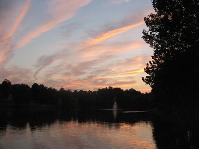 Carousel farm park lake