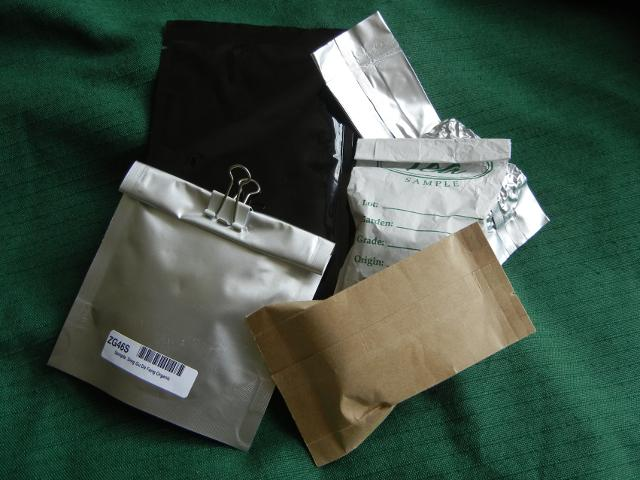 Loose Leaf Tea Sample Bags (From Various Companies) - Photos on ...