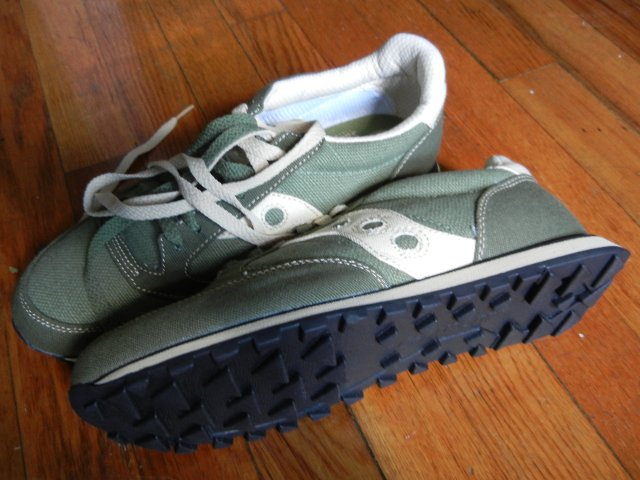 finest selection 39439 59a32 Saucony Jazz Low Pro Vegan Sneakers, Green - Photos on ...