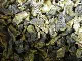 Loose-leaf green oolong tea
