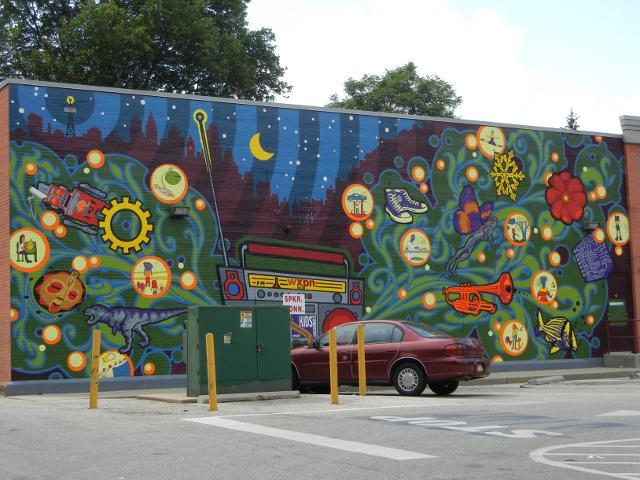 Wonders Of Radio Mural Kids Corner Mural Cvs 43rd At Locust